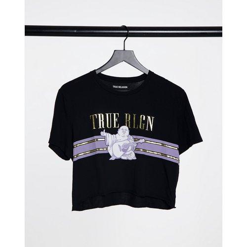 T-shirt court avec imprimé graphique Bouddha - True Religion - Modalova