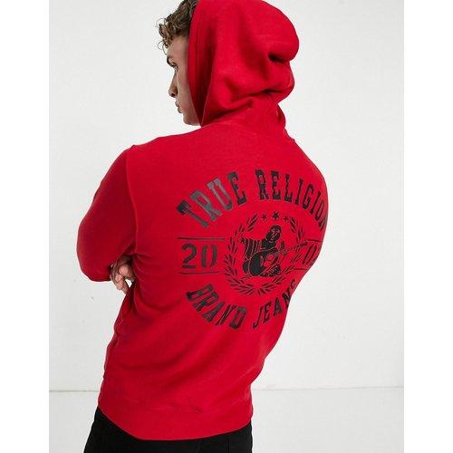 –Hoodie à logo zippé - True Religion - Modalova