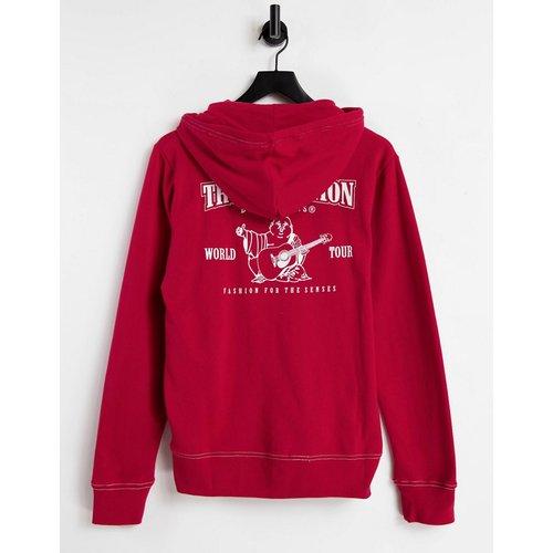 –Hoodie zippé classique à logo - True Religion - Modalova