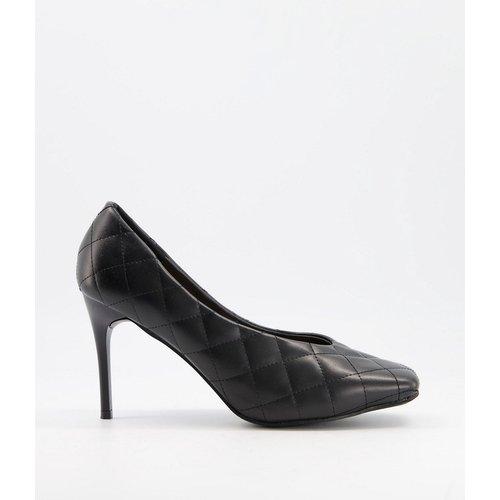 Chaussures à talon matelassées avec bout carré - Truffle Collection - Modalova