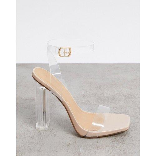 Sandales à talons transparents - Truffle Collection - Modalova
