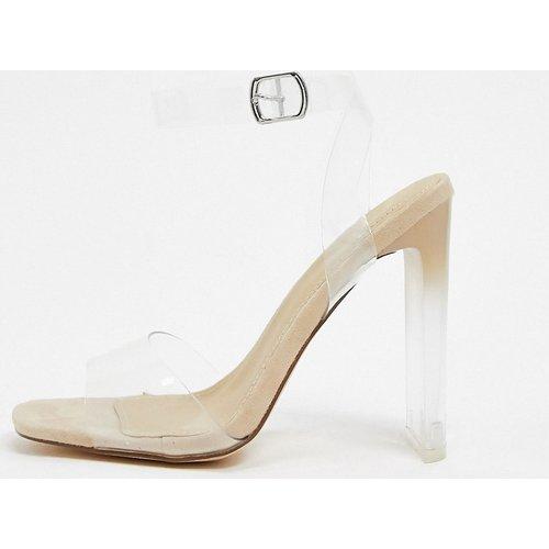 Sandales à talonsminimalistes transparentes - Truffle Collection - Modalova