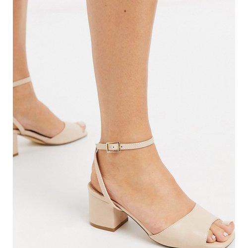 Sandales pointure large à mi-talons carrés - Truffle Collection - Modalova