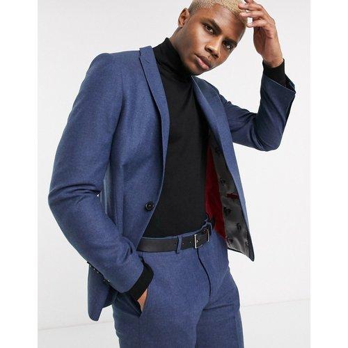Veste de costume en tweed - Bleu marine - Twisted Tailor - Modalova