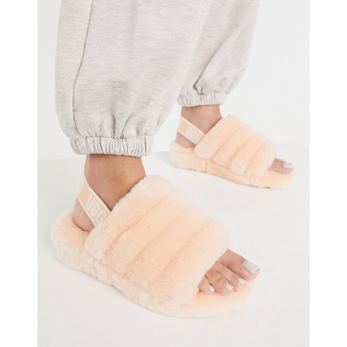 Fluff Yeah - Chaussons duveteux style claquettes - Coquille - Ugg - Modalova