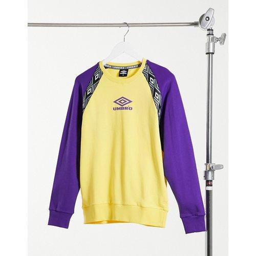 Drive - Sweat-shirt à manches longues - et violet - Umbro - Modalova