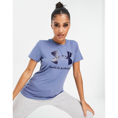 T-shirt de sport à imprimé graphique - Under Armour - Modalova