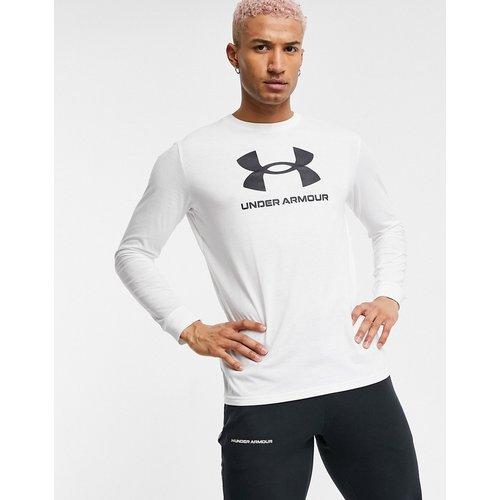 T-shirt de sport manches longues à logo - - Under Armour - Modalova