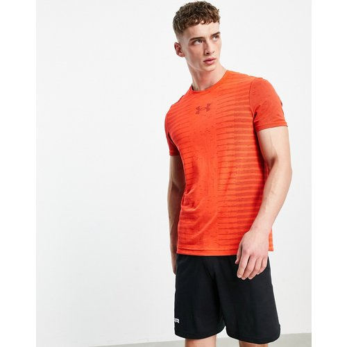 T-shirt sans coutures imprimé au dos - Under Armour - Modalova
