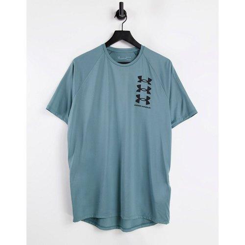 T-shirt technique à triple logo - Noir et - Under Armour - Modalova