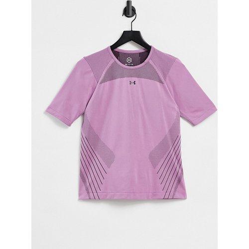 Training Rush- T-shirt à manches courtes sans coutures - Under Armour - Modalova