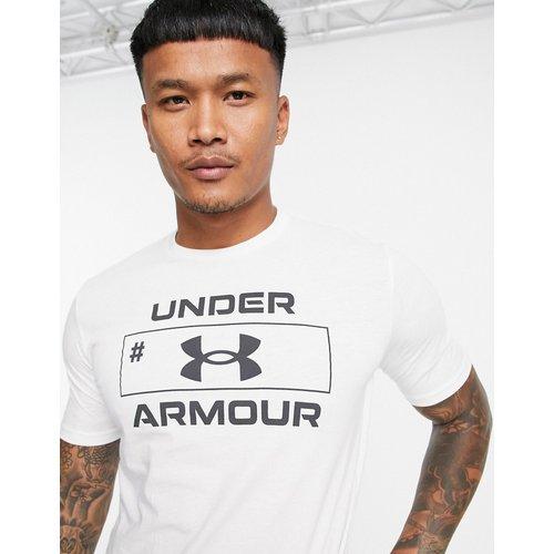 Training - T-shirt imprimé devant - Under Armour - Modalova