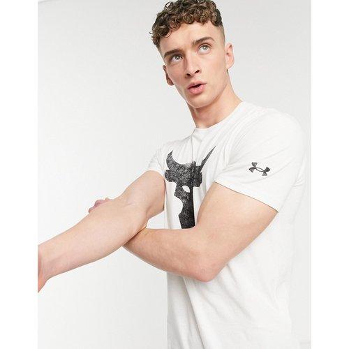 Training x Project Rock - T-shirt à imprimé taureau - Under Armour - Modalova