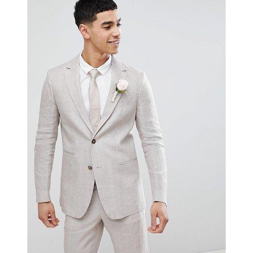 Wedding - Veste de costume classique en lin - United Colors of Benetton - Modalova