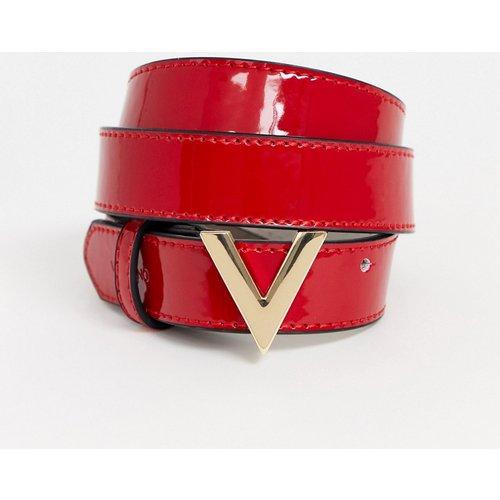 Forever - Ceinture fine vernie - Valentino by Mario Valentino - Modalova