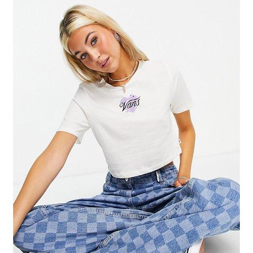 Better Together Airbrush - T-shirt crop top avec logo - - Exclusivité ASOS - Vans - Modalova