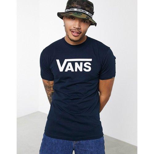 Classic - T-shirt à logo - Bleu marine/blanc - Vans - Modalova