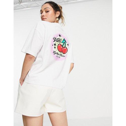Occasion - T-shirt crop top avec imprimé au dos - Vans - Modalova