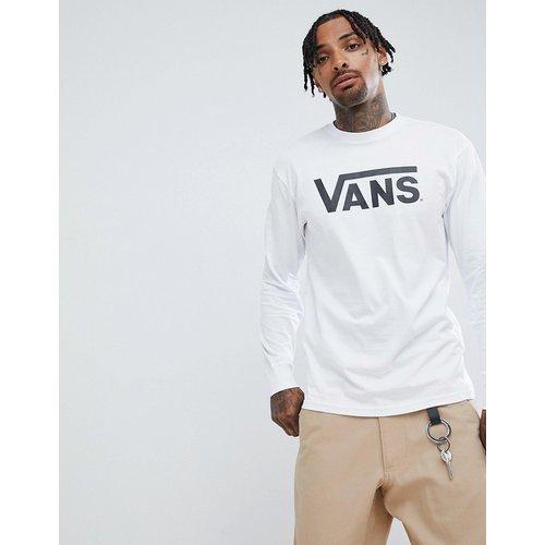 T-shirt manches longues à grand logo - VN000K6HYB21 - Vans - Modalova