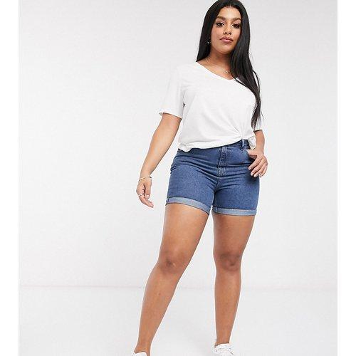 Short mom en jean - moyen - Vero Moda Curve - Modalova