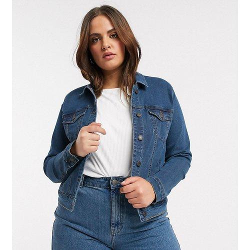 Veste en jean - moyen - Vero Moda Curve - Modalova