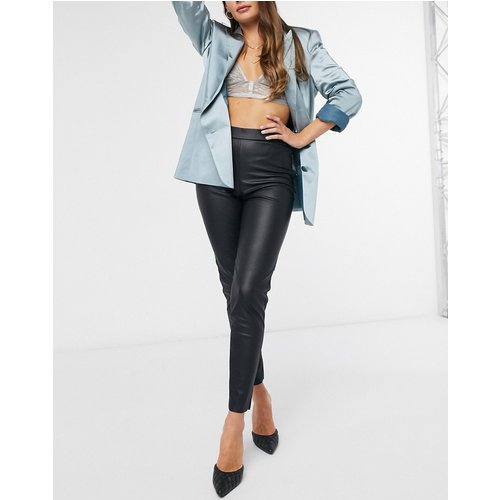 Legging aspect cuir - Vero Moda - Modalova