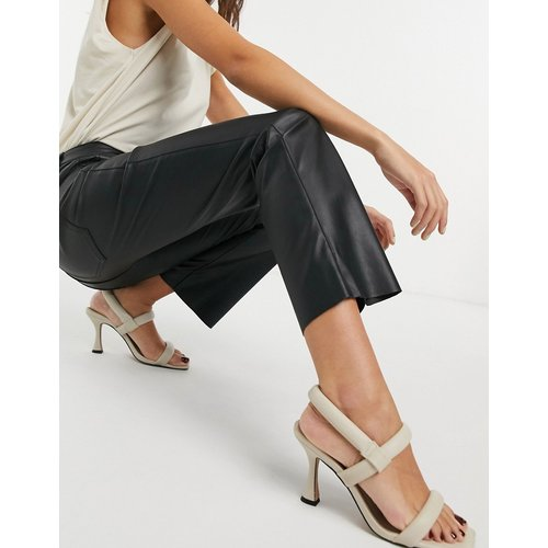 Pantalon imitation cuir - Vero Moda - Modalova