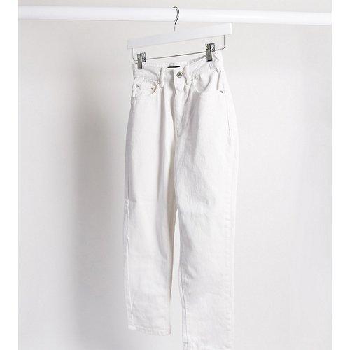 Vero Moda Petite - Jean mom - blanc - Vero Moda Petite - Modalova