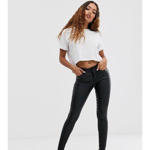 Jean skinny enduit - Vero Moda Petite - Modalova