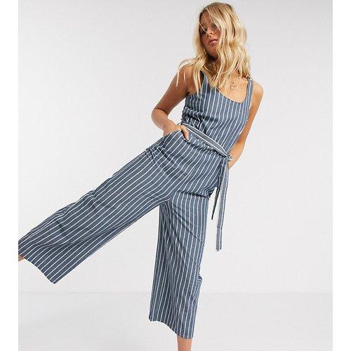 Combinaison jupe-culotte nouée à la taille - Rayures - Vero Moda Tall - Modalova