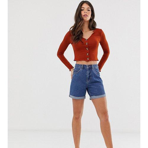 Short mom en jean taille haute - Vero Moda Tall - Modalova