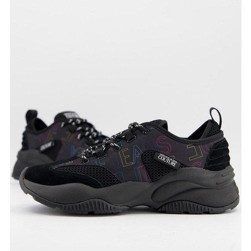 Baskets avec logo imprimé - Versace Jeans Couture - Modalova