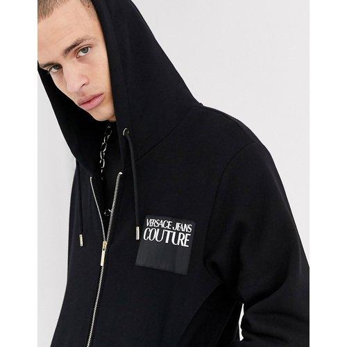 Hoodie à fermeture éclair - Versace Jeans Couture - Modalova