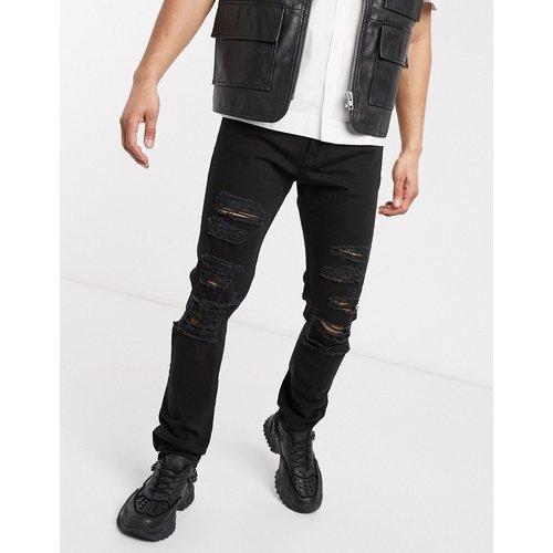 Jean slim déchiré - Versace Jeans Couture - Modalova