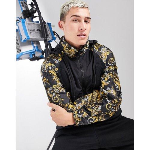 Veste de survêtement à imprimé baroque - Versace Jeans Couture - Modalova