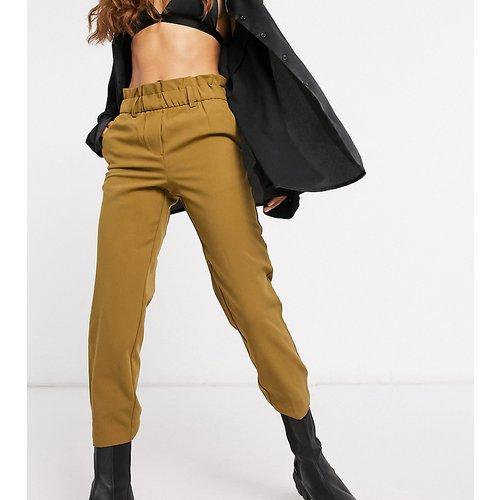 Pantalon à taille froncée - Fauve & crème - Vila Petite - Modalova