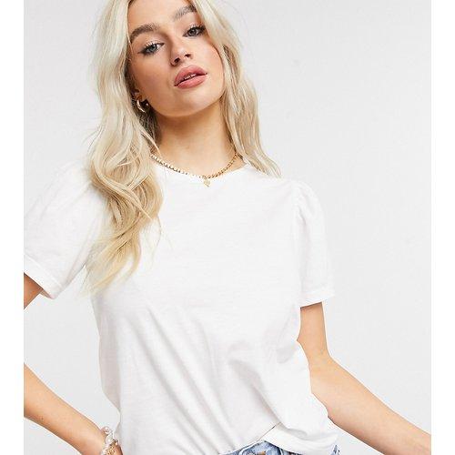 T-shirt à manches bouffantes - Crème - Vila Petite - Modalova