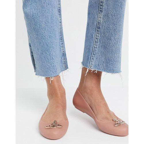 Chaussures plates à logo - Beige - Vivienne Westwood for Melissa - Modalova