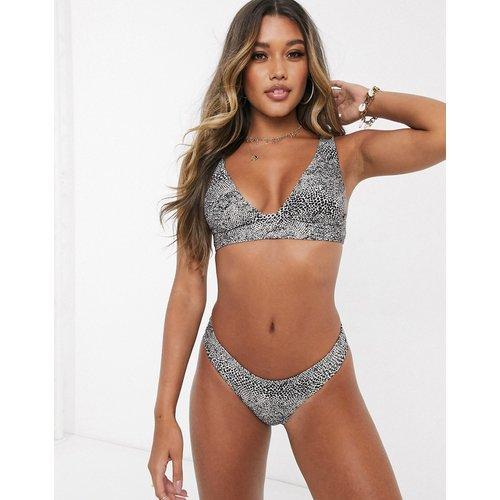 X CocoHo - Haut de bikini à motif animal - Volcom - Modalova
