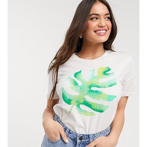 T-shirt en coton biologique imprimé palmier peint à la main - We Are Hairy People - Modalova