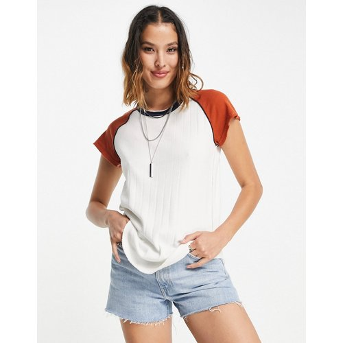 Block It Baby - T-shirt à bordures contrastantes - We The Free by Free People - Modalova
