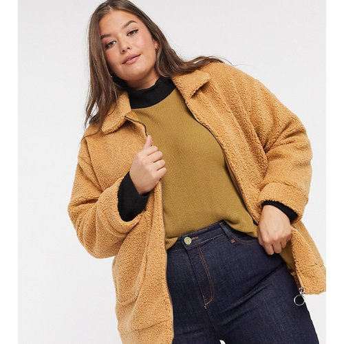 Manteau teddy - Wednesday's Girl Curve - Modalova