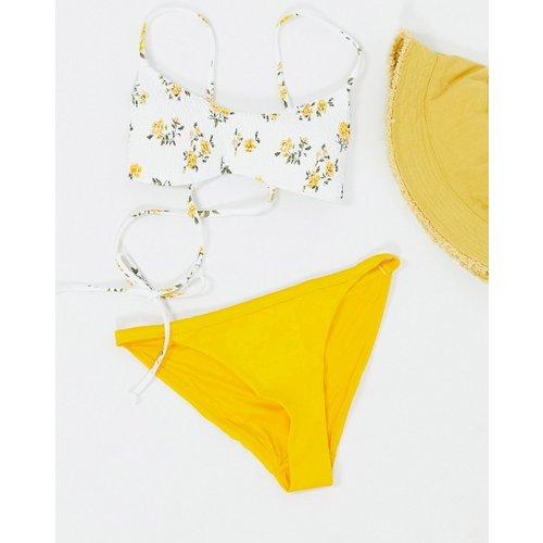 Ava - Bas de bikini tanga en polyester recyclé - Weekday - Modalova