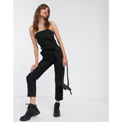 Combinaison bandeau en jean - Weekday - Modalova