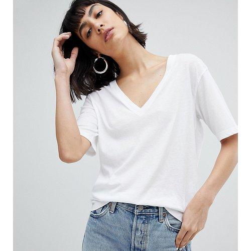 Last - T-shirt col V - Weekday - Modalova