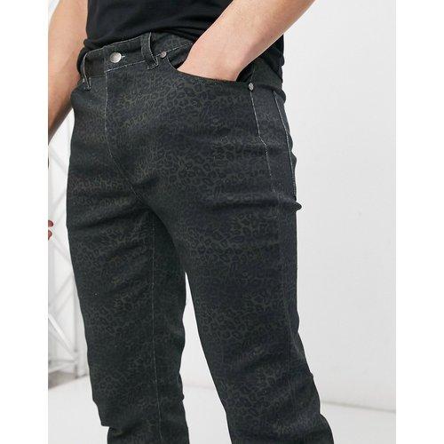 Alessandro - Pantalon en jean skinny à imprimé camouflage léopard - WESC - Modalova
