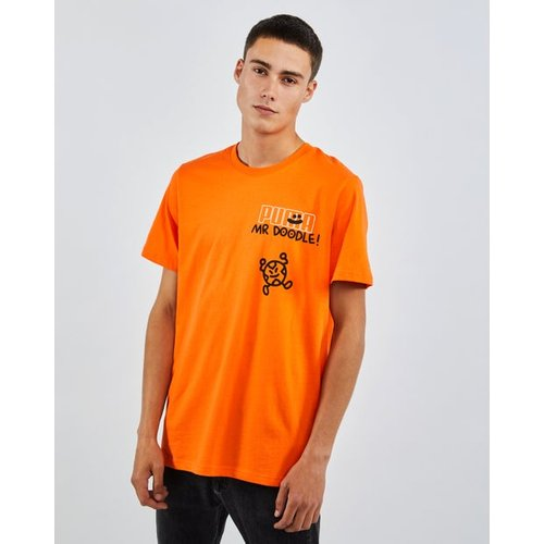 X Mr Doodle Relaxed - T-Shirts - Puma - Modalova