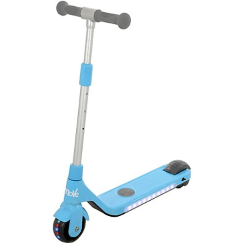 Save £30.00 - U-Move Rechargeable LED Kids' Electric Scooter - Blue or Pink