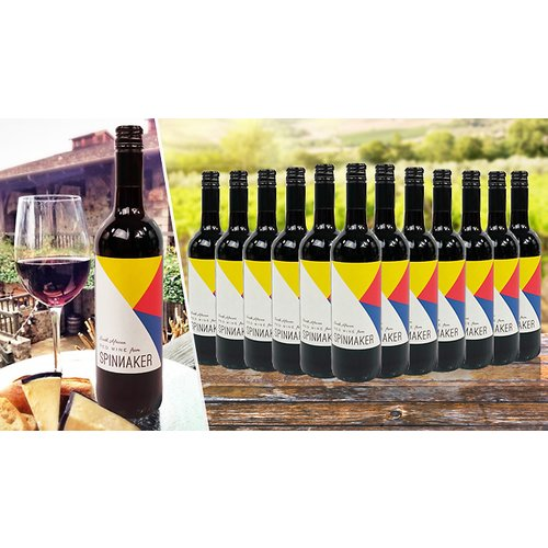 Save 44% - 6 or 12 Bottles of Spinnaker South African Red Wine