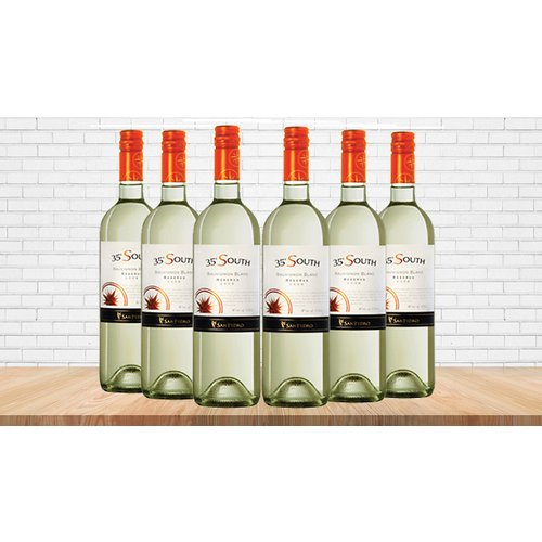 6 or 12 Bottles of 35 South Sauvignon Blanc Wine